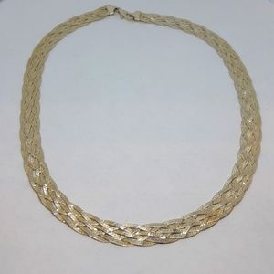 Sterling Silver 5 Strand Necklace